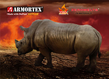 Picture of Rhino with Armortex logo